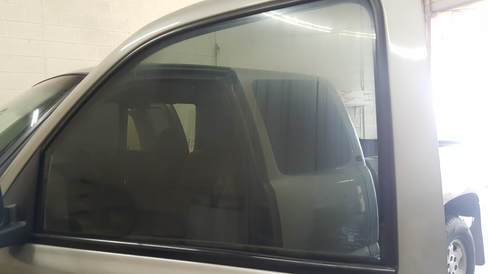 Before new high quality window tint